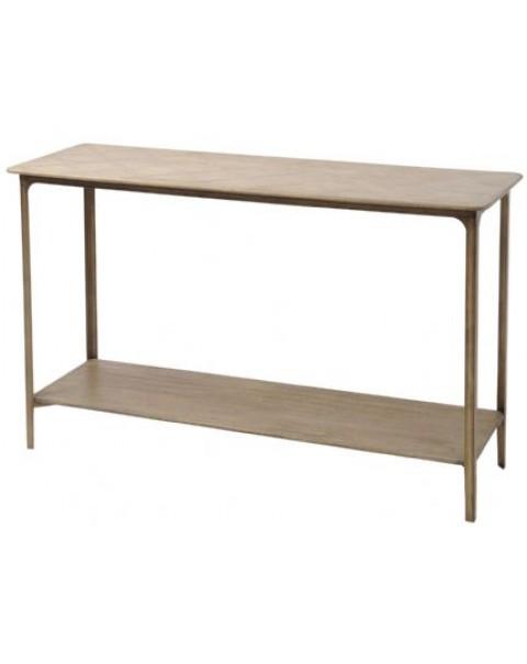 Anstey Mindi Wood Console Table - Asco Lights